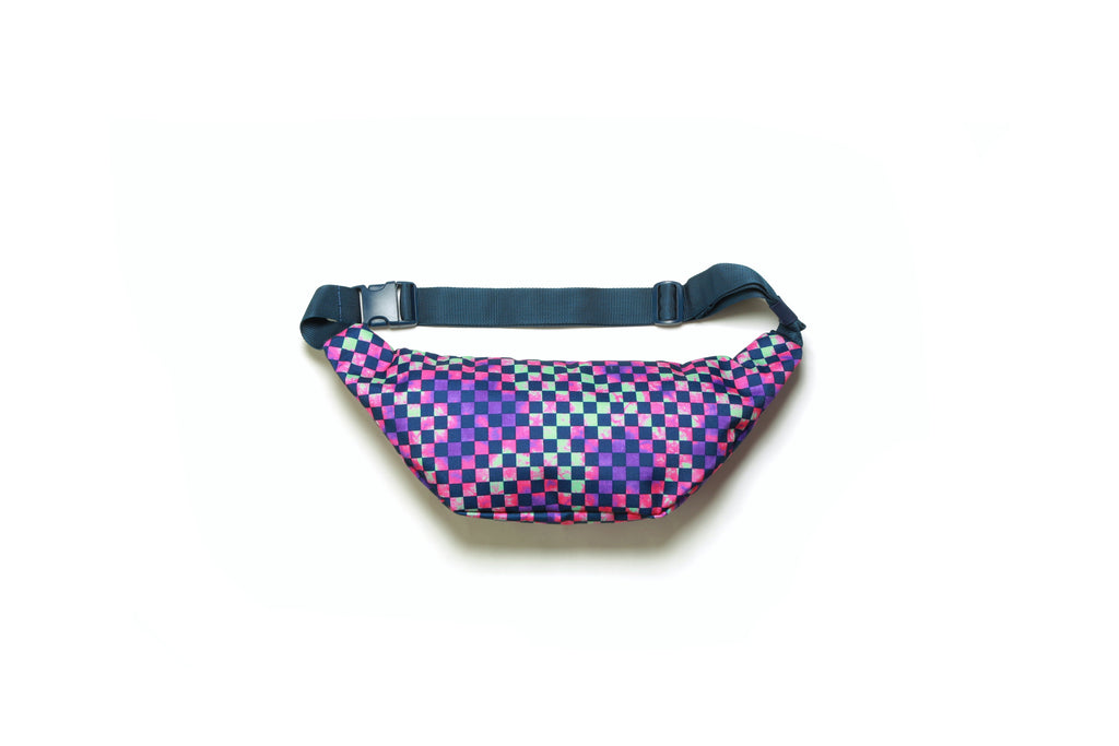 Ward Crossbody Pack - Tie Dye Check