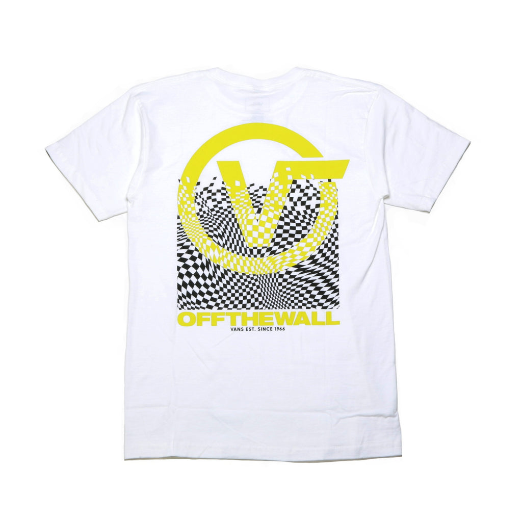 Pixelated SS Tee - White