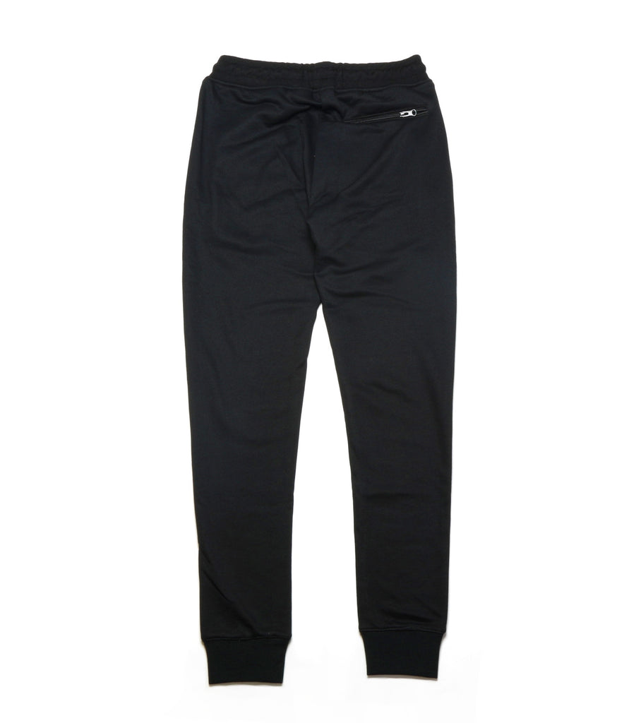 Collage Type Jogger Pants - Black