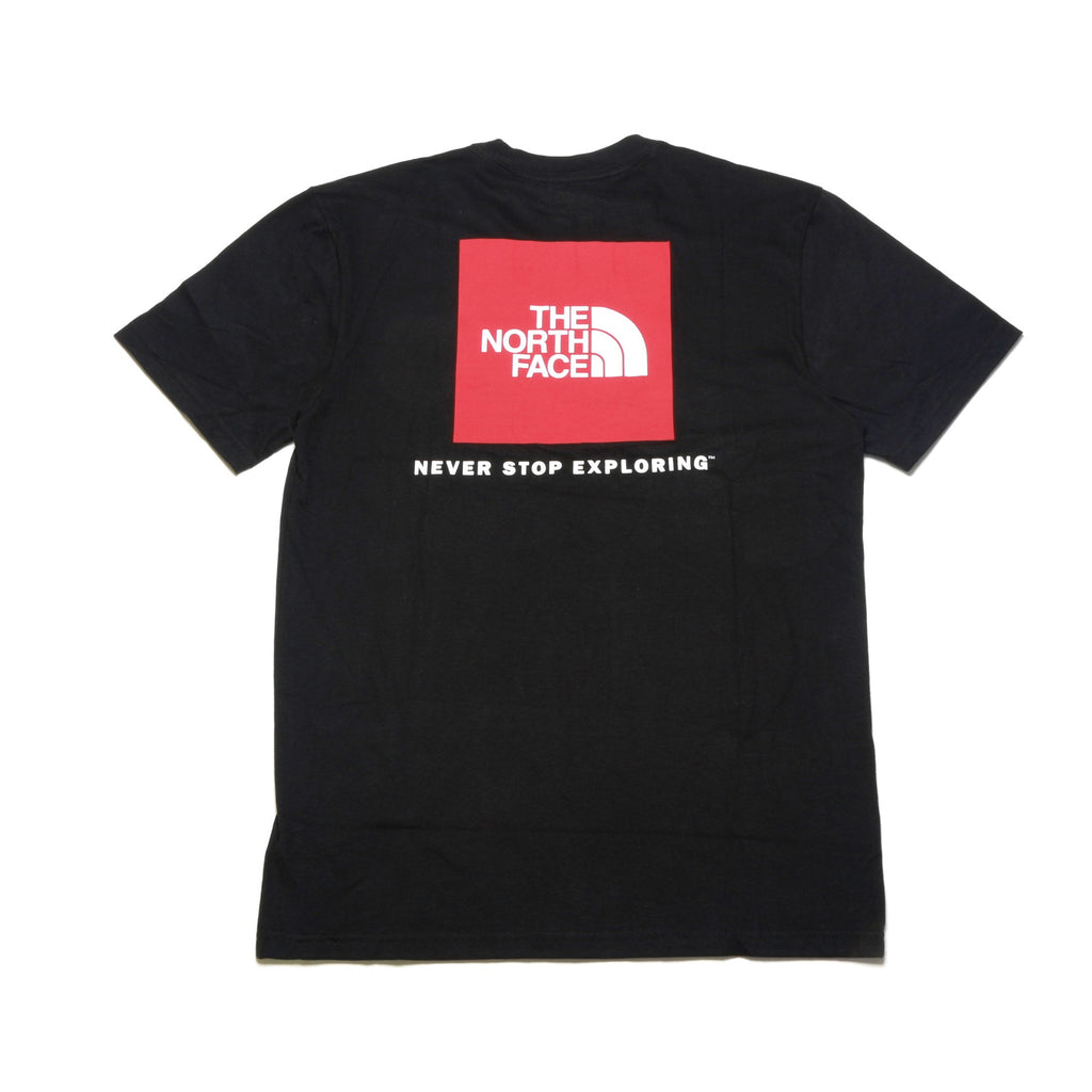 Urban Red Box SS Tee - Black/Red