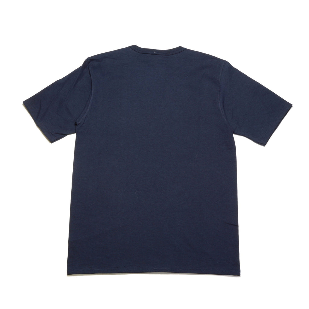 Reverse Weave Tee - (C Patch) Navy