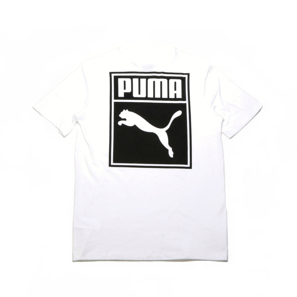 Archive Logo Box Tee - White