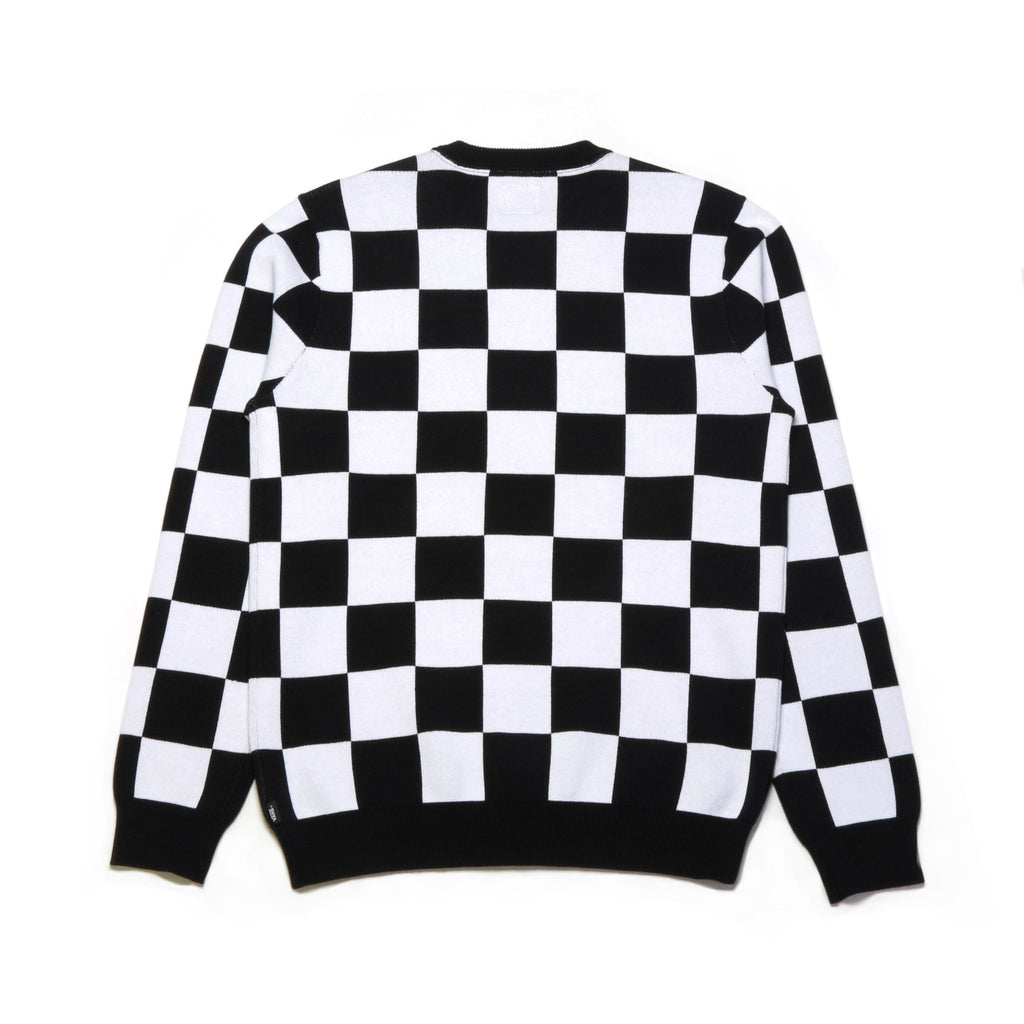 Checker Sweater - Black/White