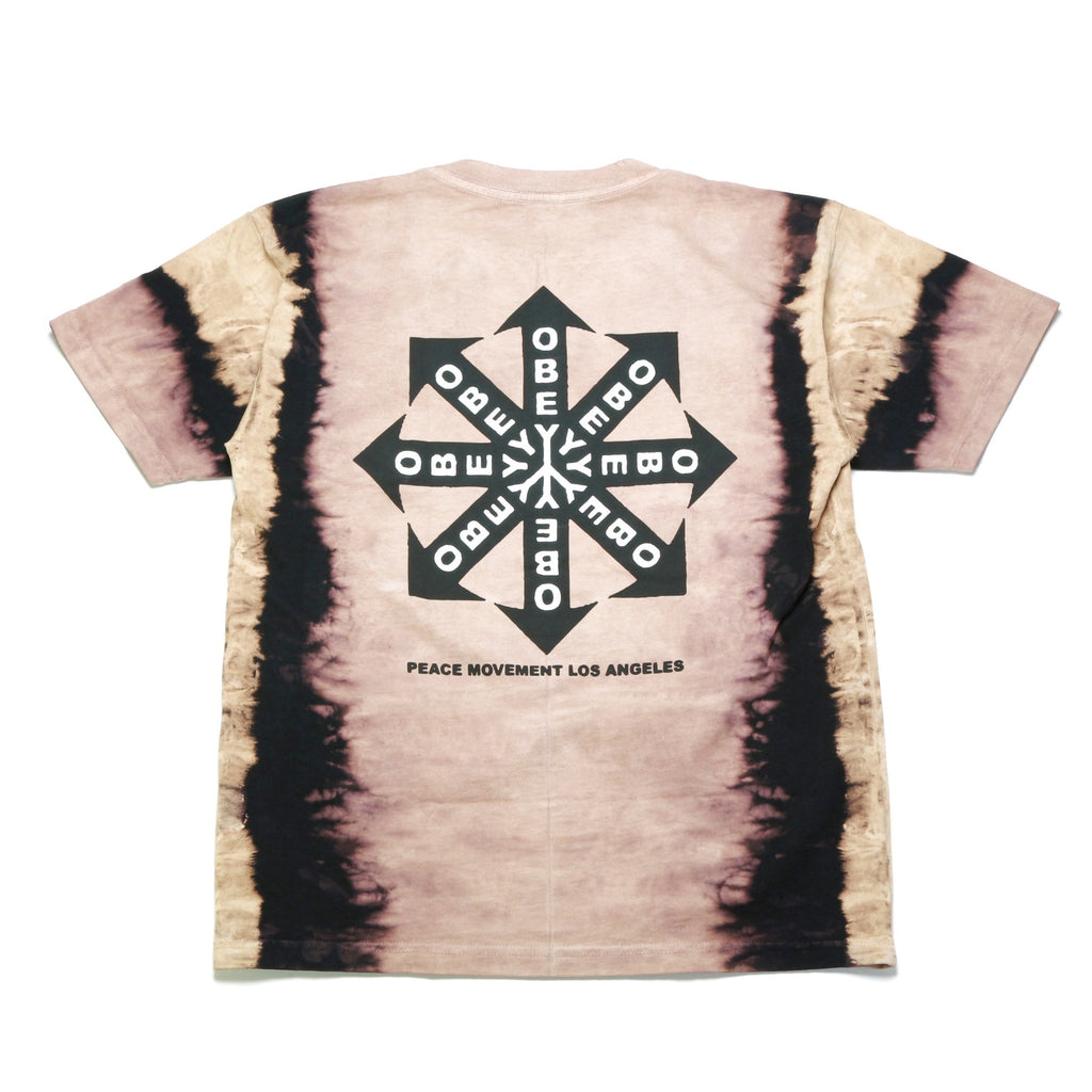 Peace Movement Tee - (Tie Dye) Black