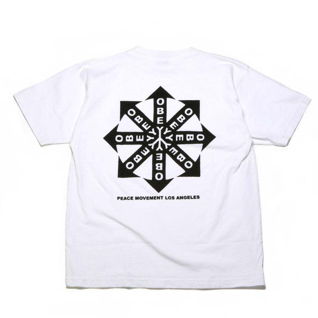 Peace Movement Tee - White