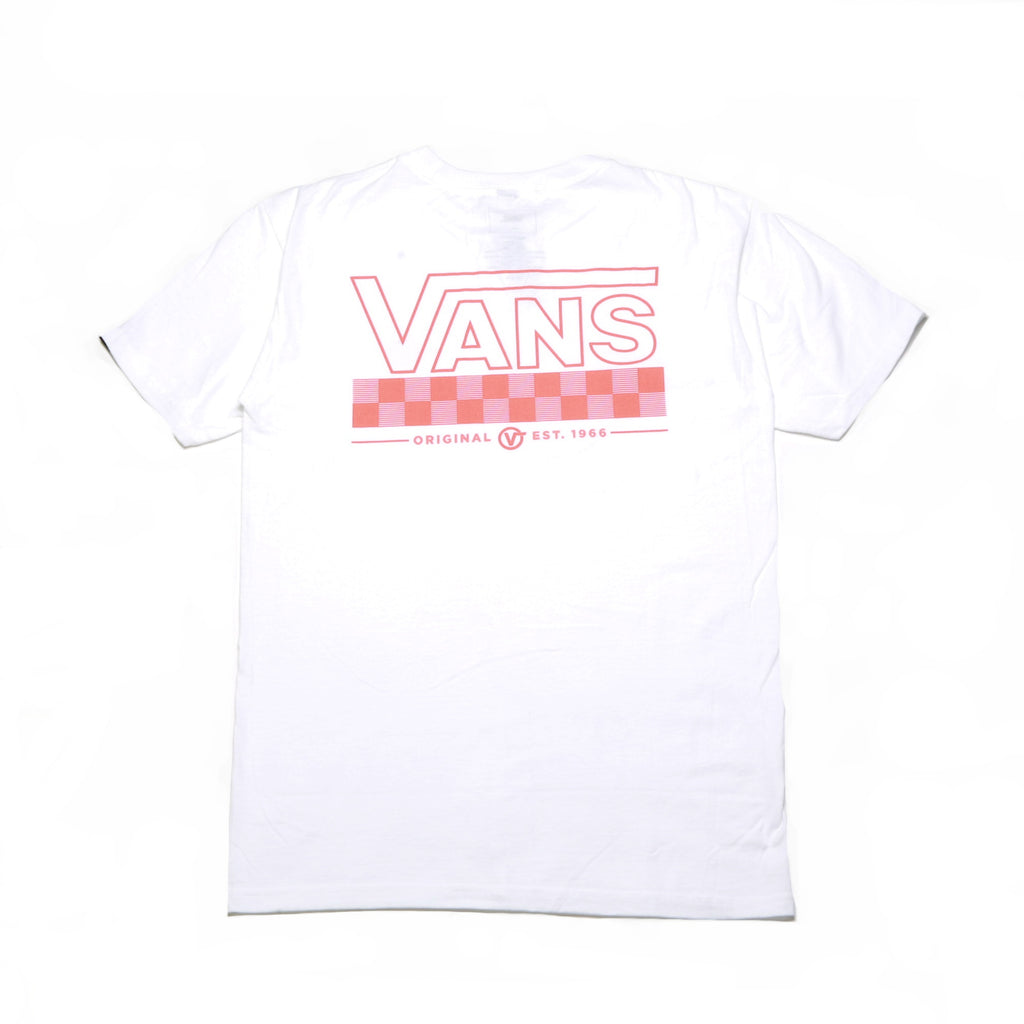 Big Check SS Tee - White