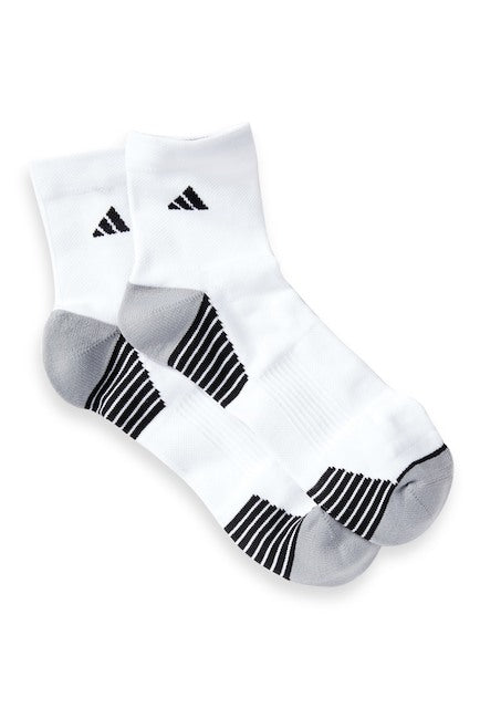 Superlite Speed Mesh Quarter Socks - (2-Pack) White