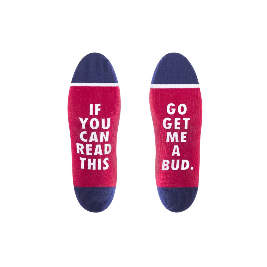 Buds For You Crew Sock - (Budweiser) Red