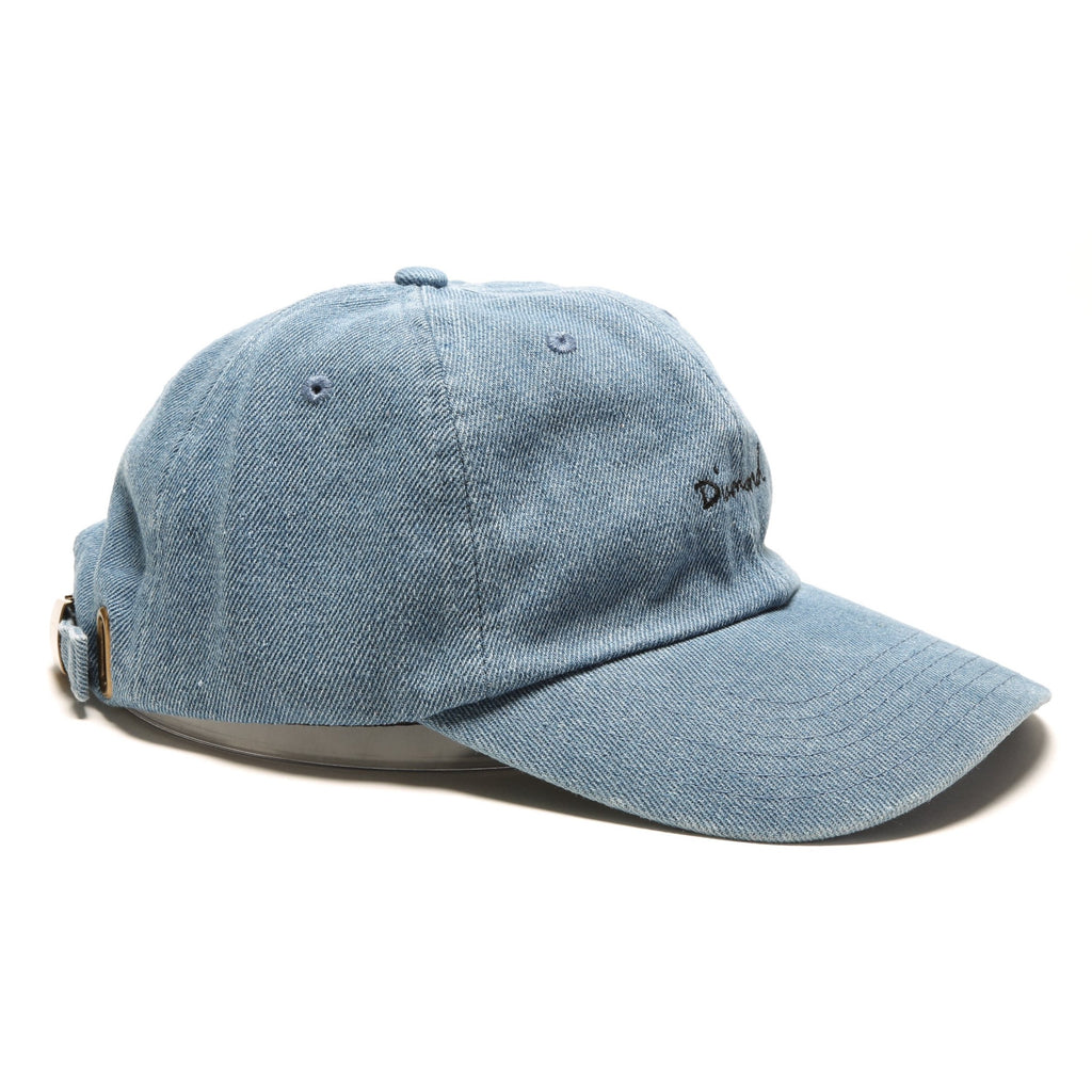 OG Script Denim Sports Hat - Medium Wash