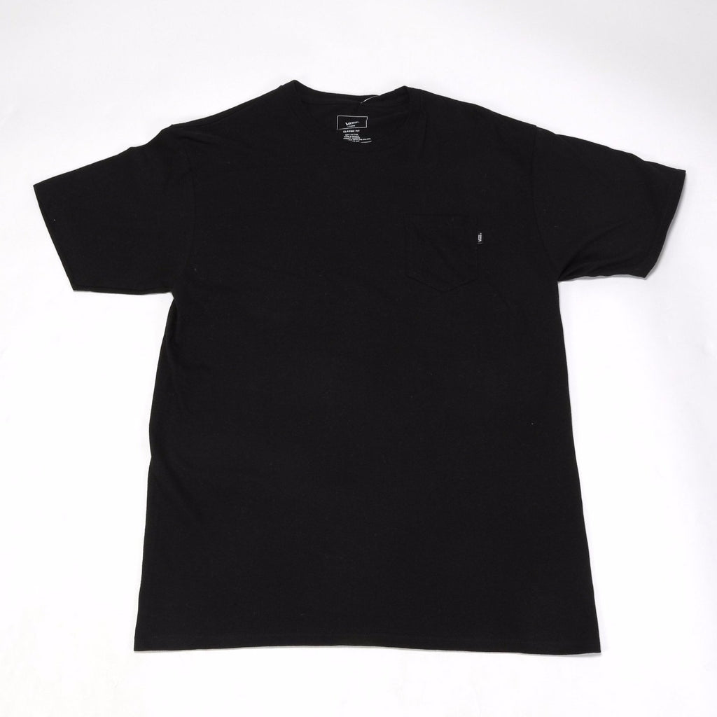 Big Hit Pocket Tee - Black
