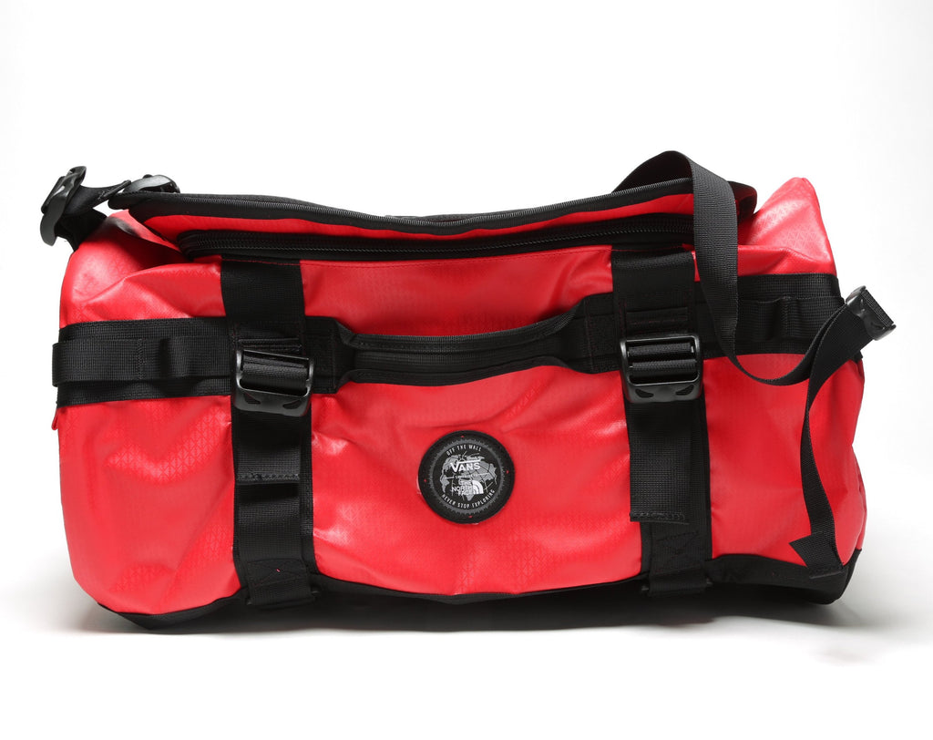 Base Camp Duffle - (Vans x The North Face) Red