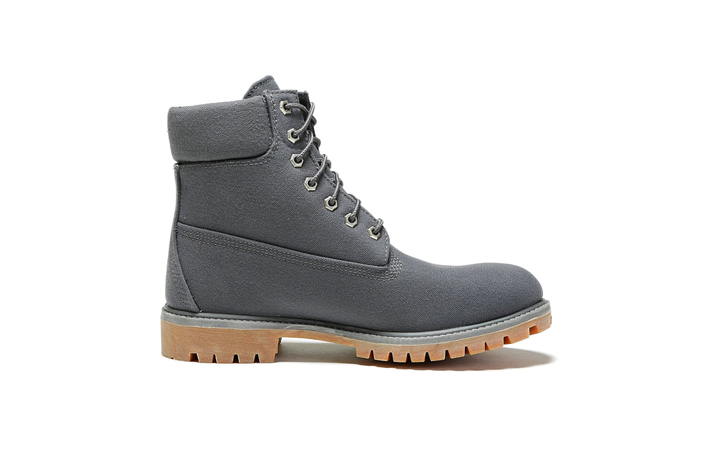 "6"" Premium Fabric Boot (M) - Dark Grey"