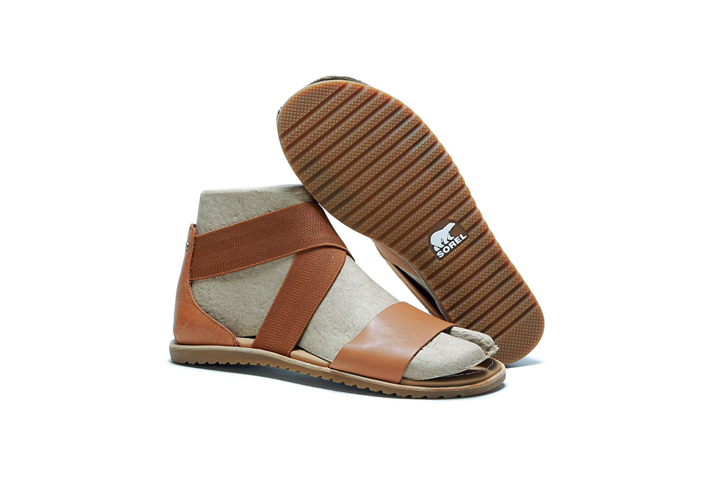 Women's Ella Sandal - Camel Brown