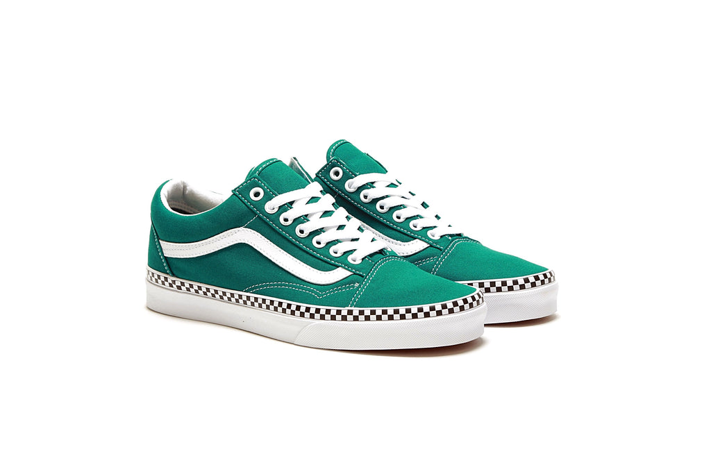 405f1577451b Old Skool - (Check Foxing) Quetzal Green True White – PRIME