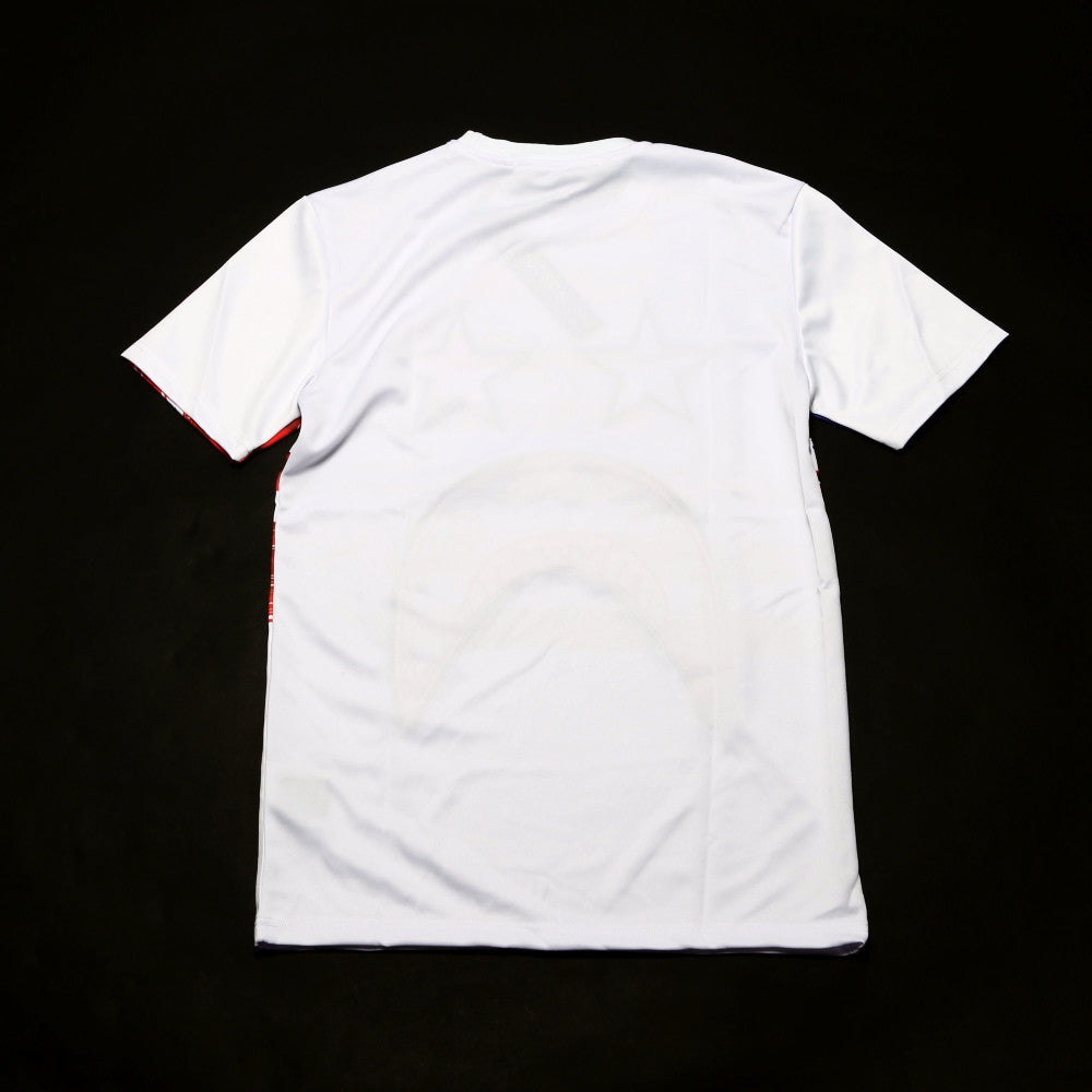 Shark Star Flag T-Shirt - White