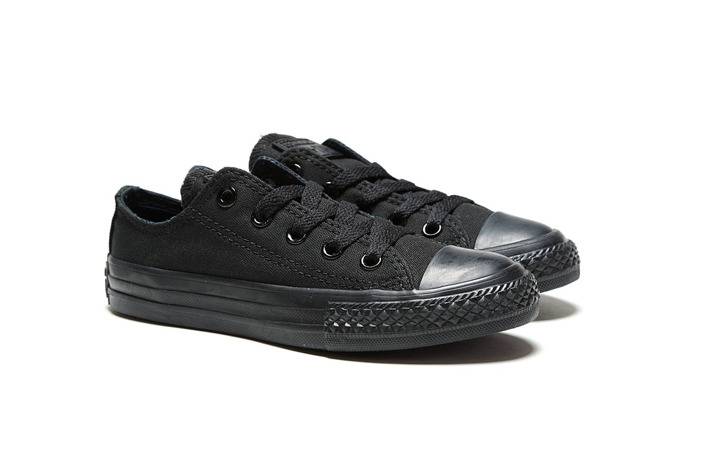 Youth's Chuck Taylor All Star Ox - Black Monochrome