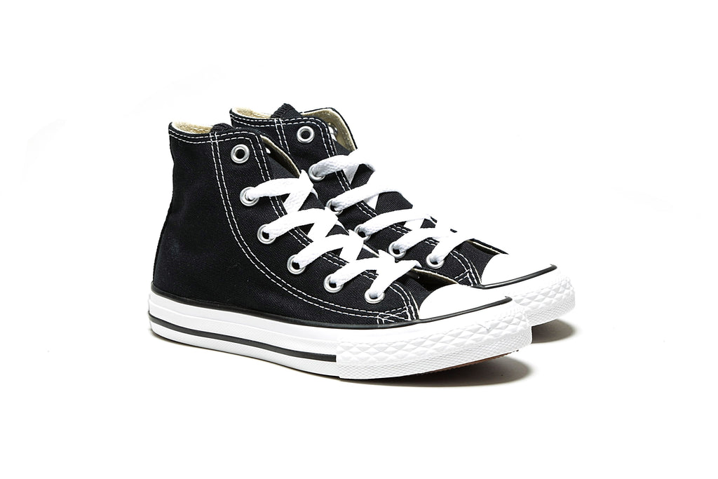Youth's Chuck Taylor All Star Hi - Black/White