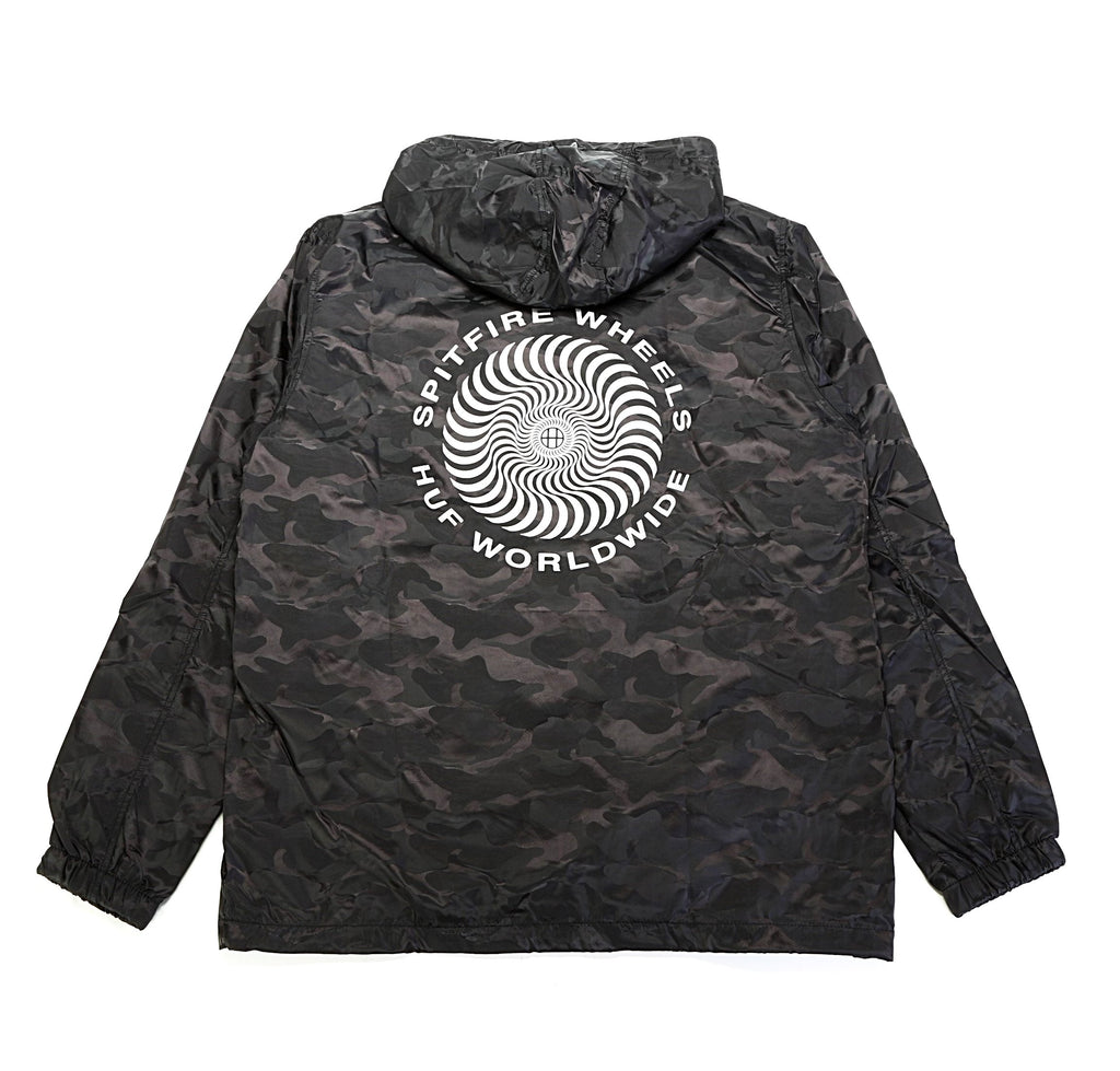 Spitfire Packable Anorak - Black