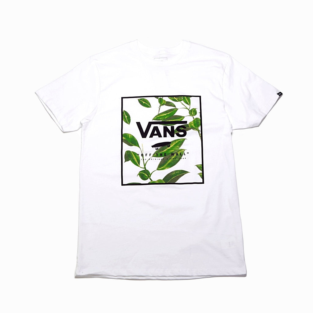 Print Box Tee - White/Rubber Co Floral