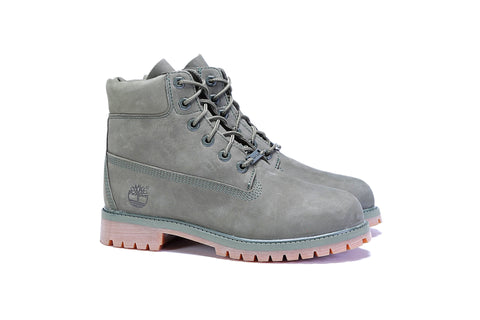 "Women's 6"" Premium Boot (M) - (Satin Collar) Pomegranate"