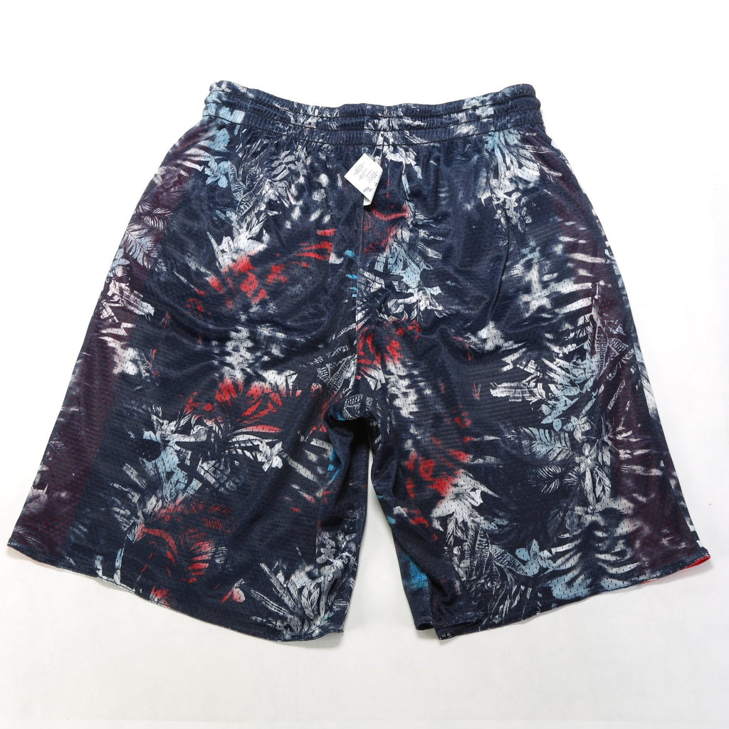 Reversible Mesh Shorts - Imperial Indigo/Red Spark/Blur Tropic