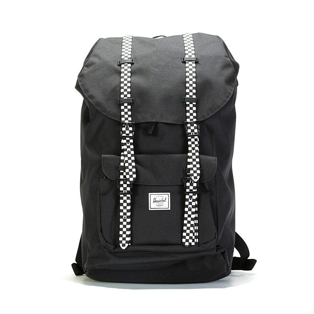 Little America Backpack - Black/Checkerboard