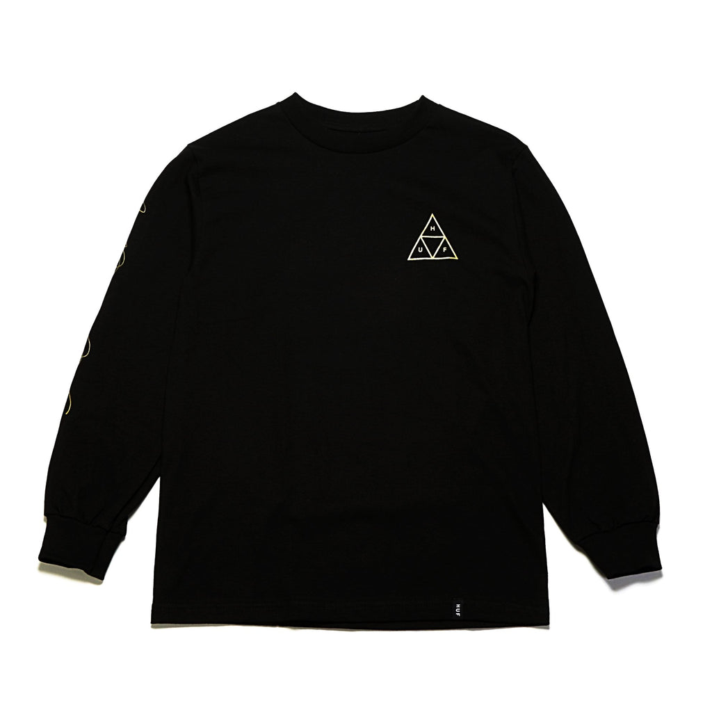 Prestige Triple Triangle LS Tee - Black