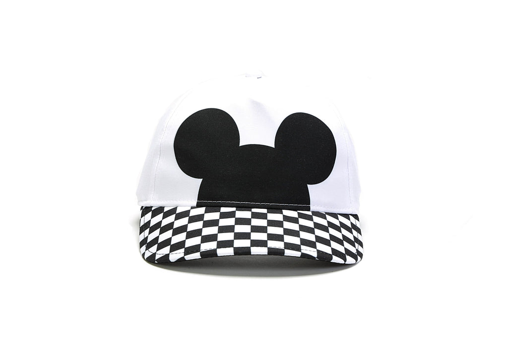 545dcc4256a2d Checkerboard Mickey Court Side Hat - (Disney) White Black – PRIME