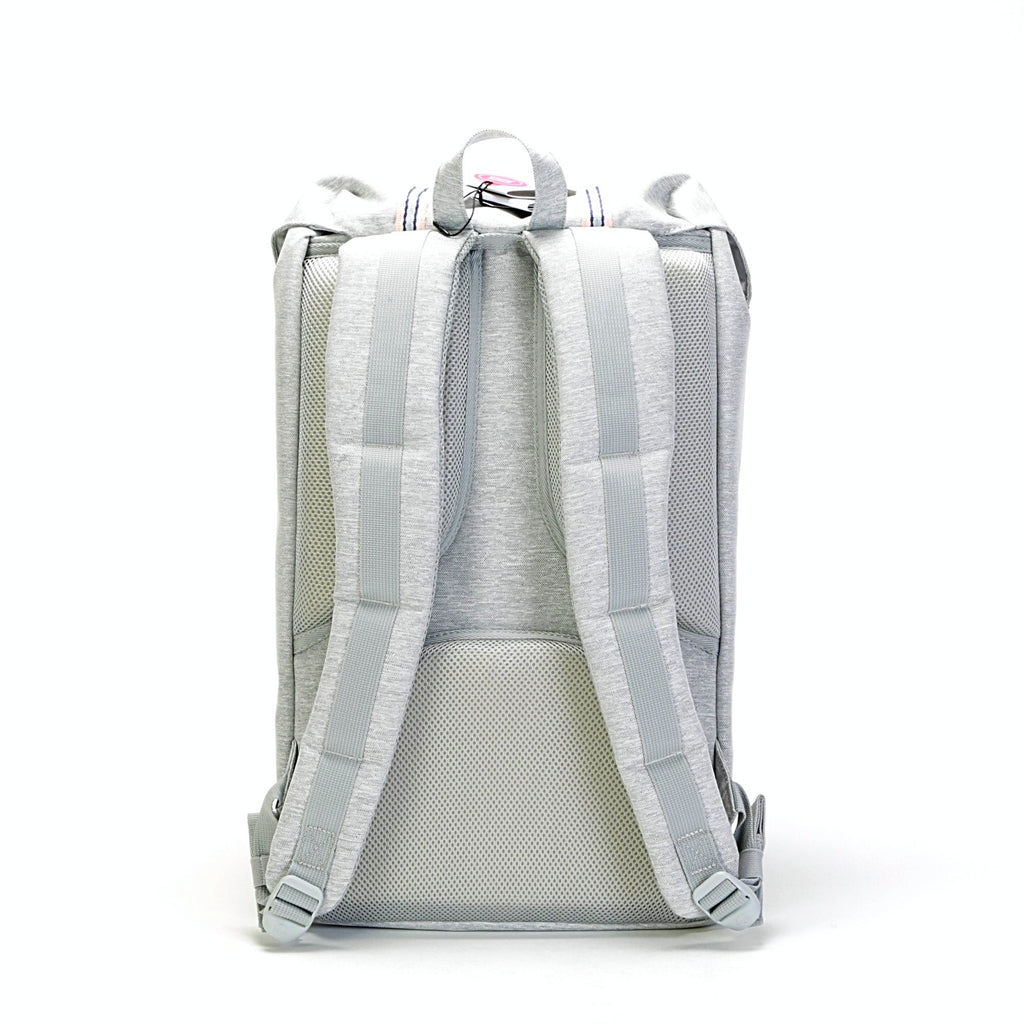 Little America Backpack - (Offset) Light Grey Crosshatch/High Rise