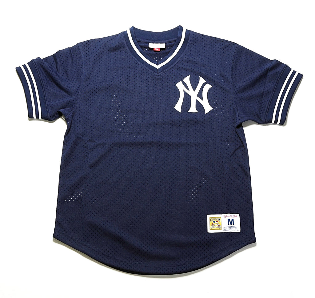 MLB Mesh V-Neck - (New York Yankees) Navy