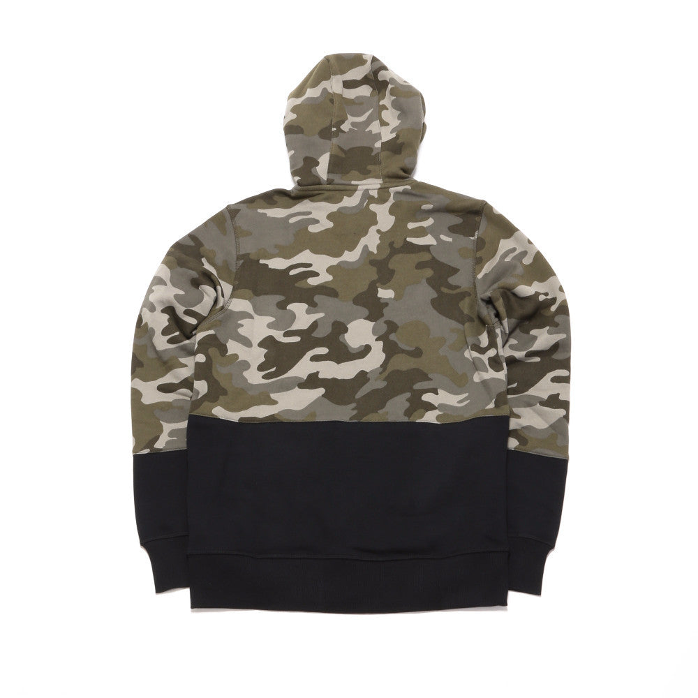 Essentials Full-Zip Hoodie - Camo Green