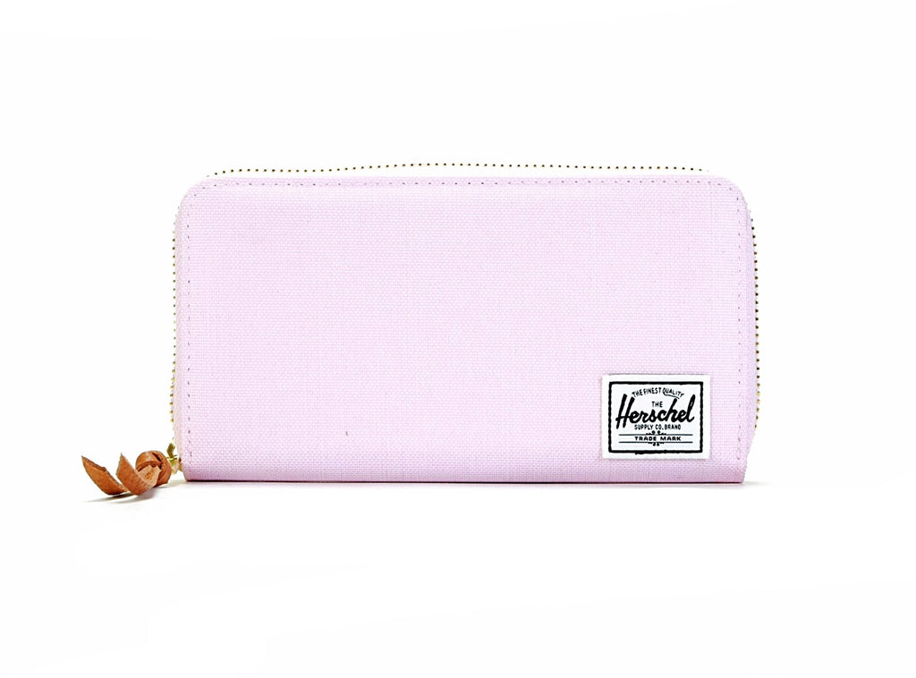 Thomas Wallet - Pink Lady Crosshatch