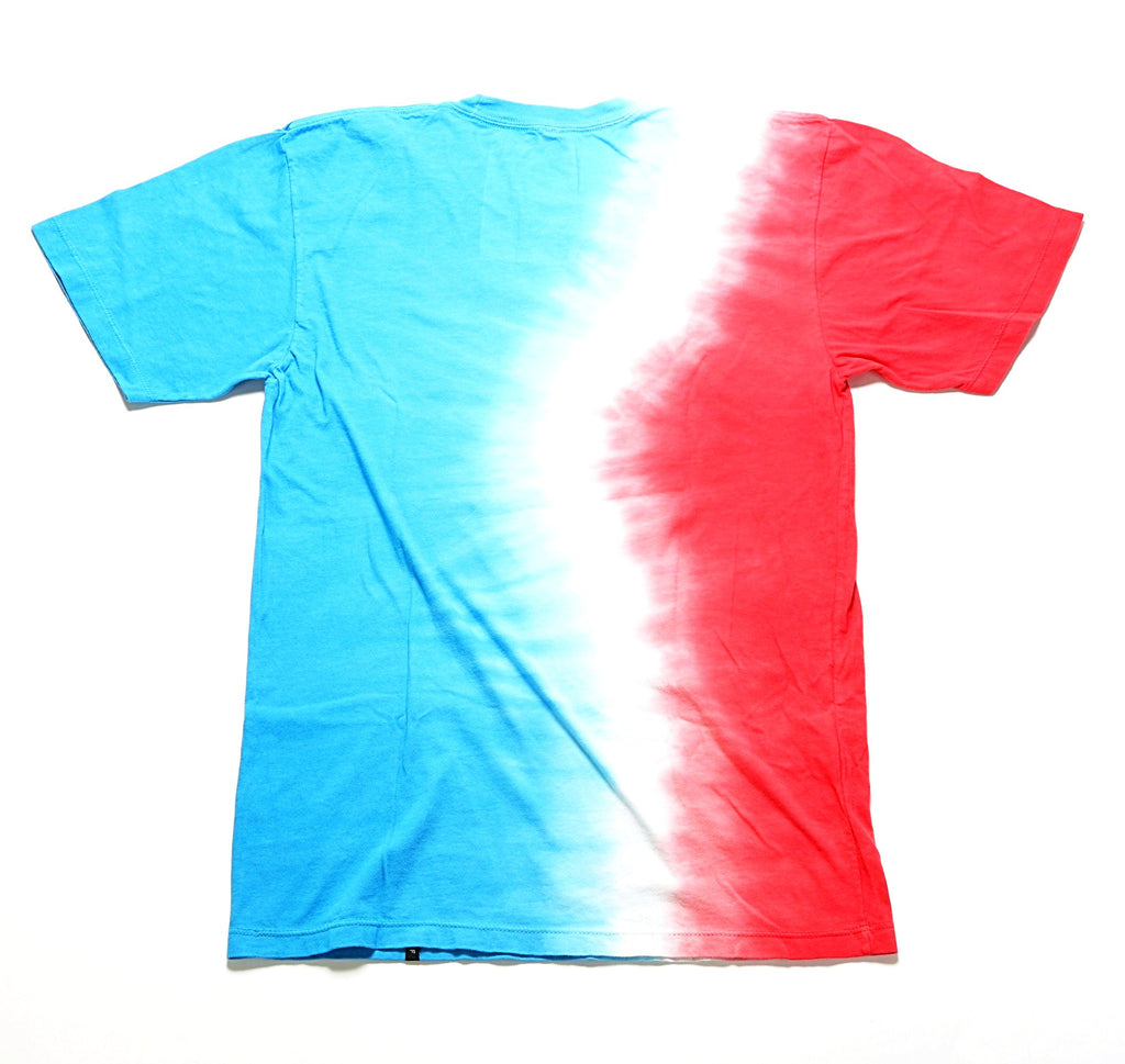 Rocket Tie-Dye S/S Tee - Red