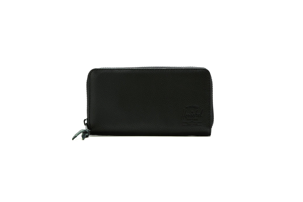 Thomas Wallet - Black Pebbled Leather/RFID