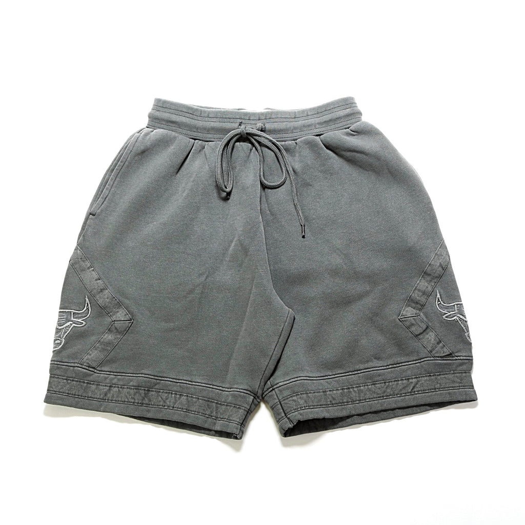 48ddce0b877 NBA Washed Out Fleece Shorts - (Chicago Bulls) Grey – PRIME