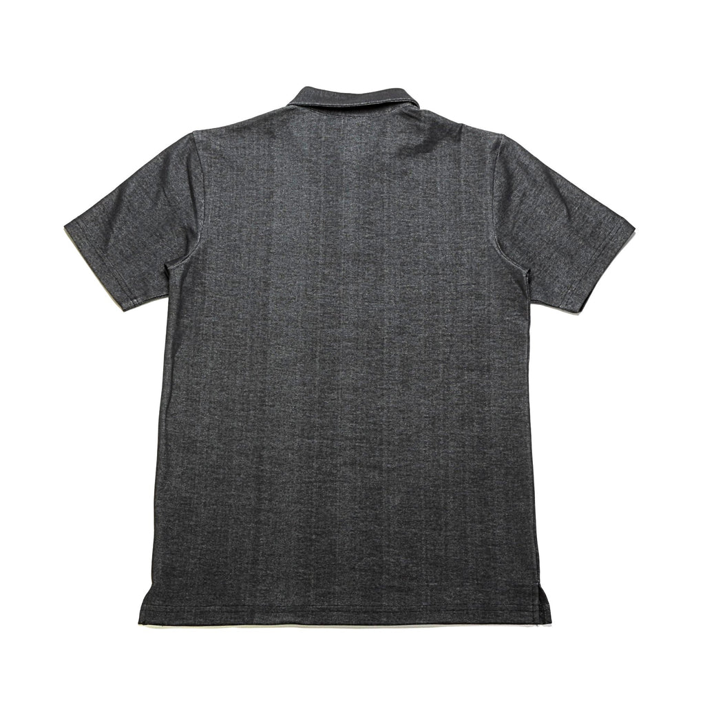 Index SS Polo - Charcoal