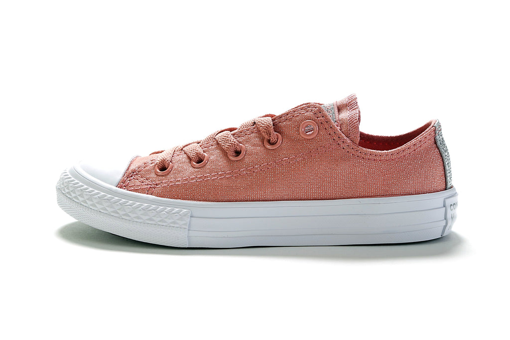 Junior's CTAS Ox - Pink/White/Pure Silver