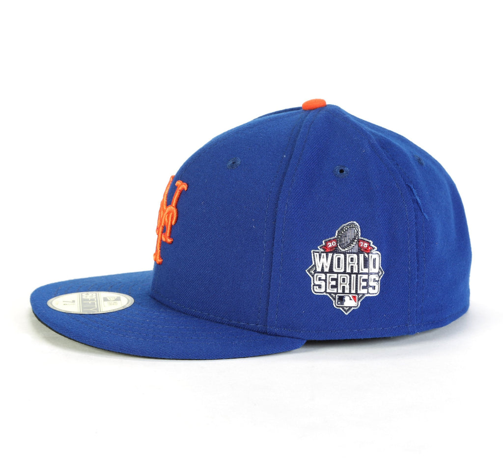 2015 World Series Fitted Cap - (New York Mets) Blue