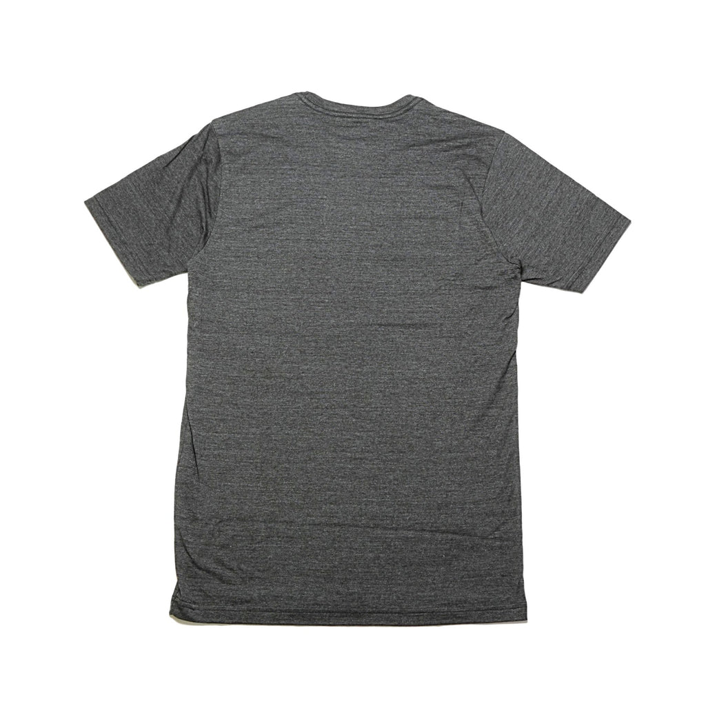 Tri-Blend Half Dome S/S Tee - Dark Grey Heather/Black