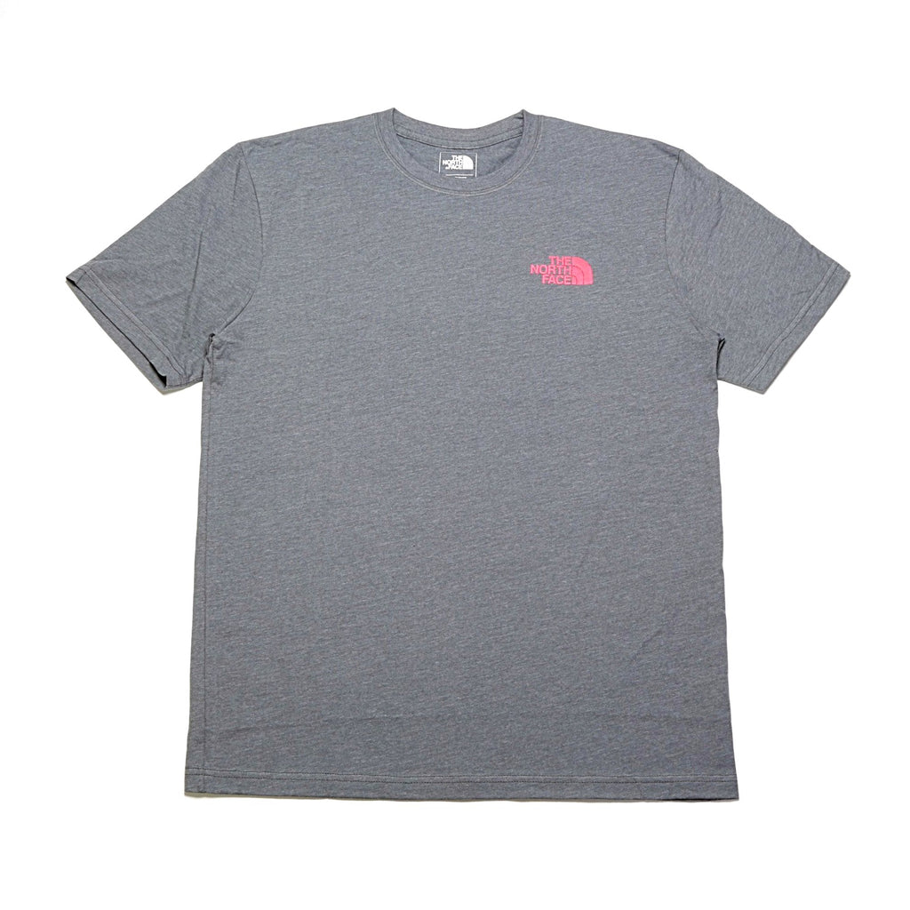 Red Box S/S Tee - Medium Grey Heather/Fiery Red