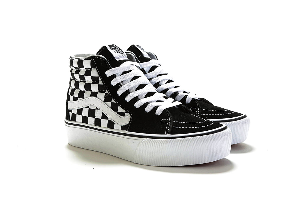 088679dd6f Sk8-Hi Platform 2.0 - Checkerboard True White – PRIME