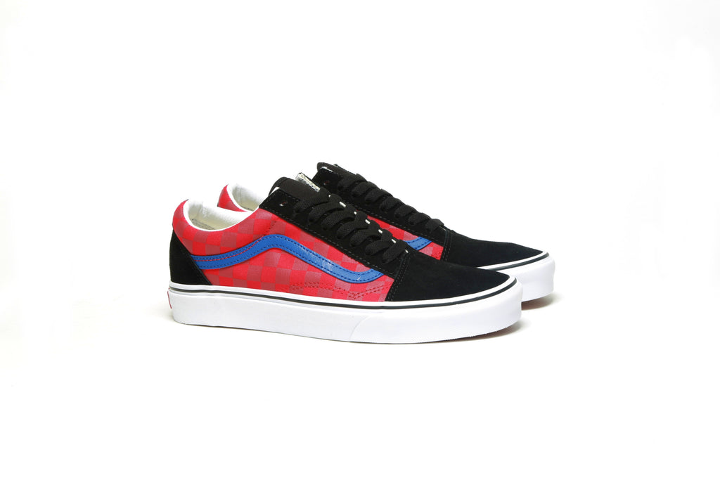 Old Skool - (OTW Rally) Checker/Multi/Black
