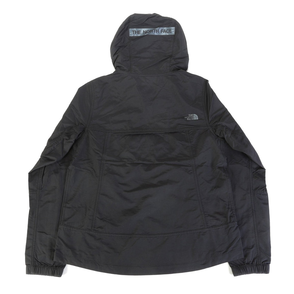 Women's Crew Run Wind Anorak - Black [PAST SEASON]