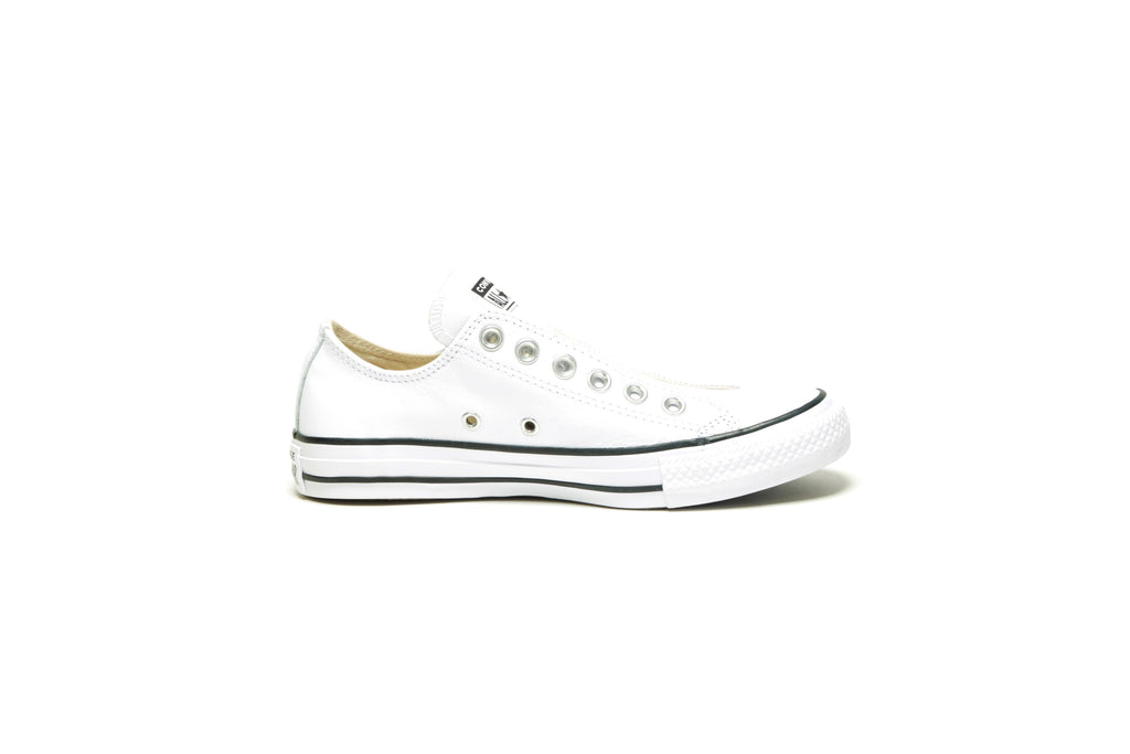 CTAS Slip - (Basic Leather) White/White/Black