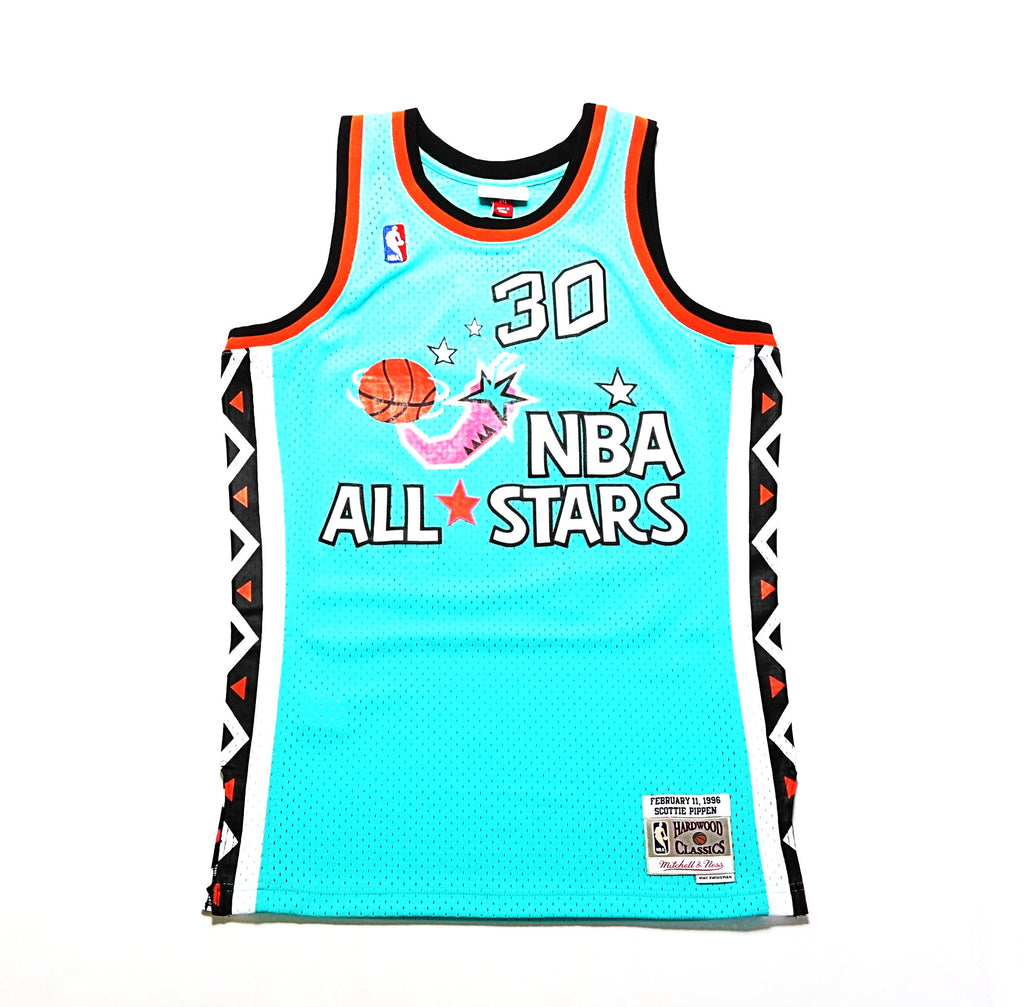 416bd17af 1996 All Star East Swingman Jersey - (Scottie Pippen) Turquoise – PRIME