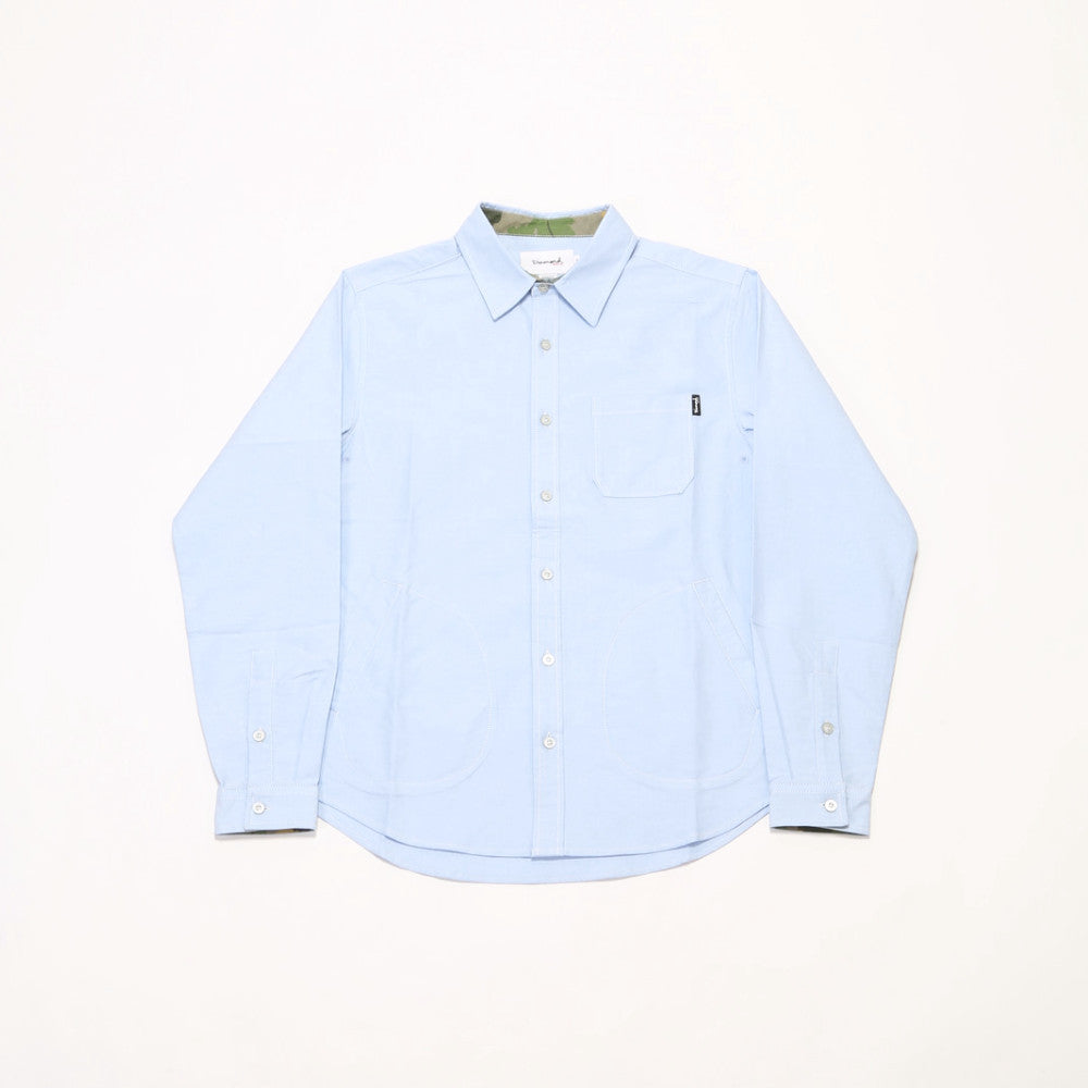 Field Oxford L/S Woven Shirt - Blue