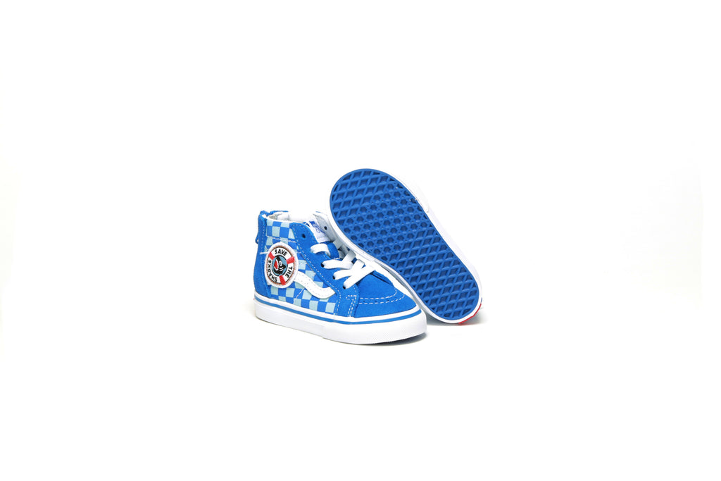 fd24f06291 Toddlers' Sk8-Hi Zip - (Shark Week) Blue/True White