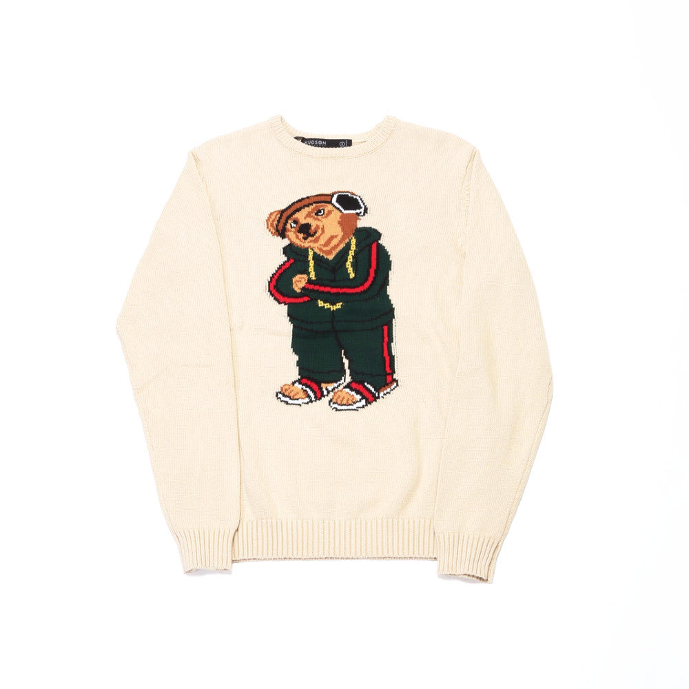 Good Bear Knit Sweater - Beige