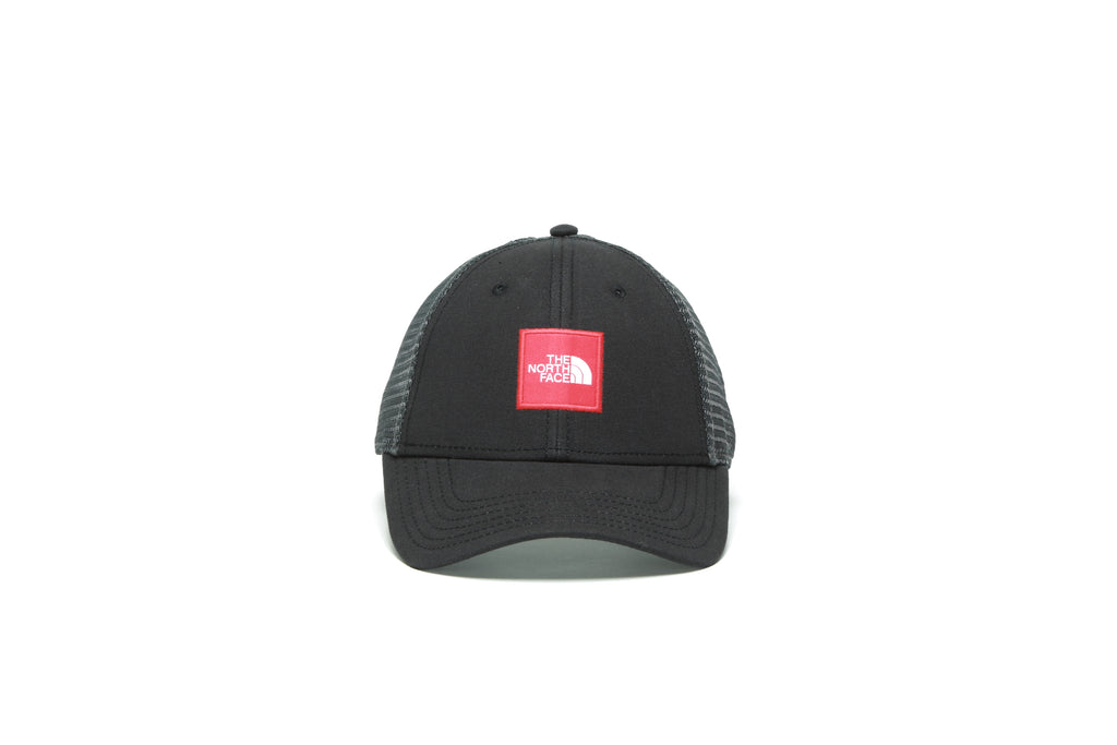 Box Logo Trucker - Black/Red
