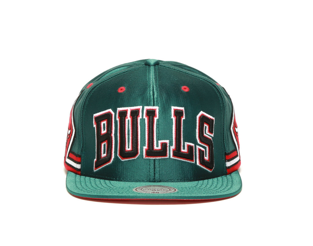 on sale fb683 fa79f ... Green Jersey Snapback - (Chicago Bulls) Green Red ...